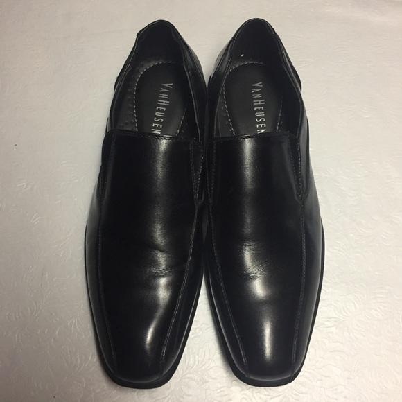 Van Heusen Mens Slipon Dress Shoes